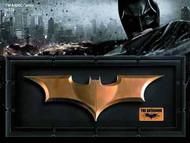 Dark Knight Rises Batarang Replica--Batman Noble Collection -- MAR131977