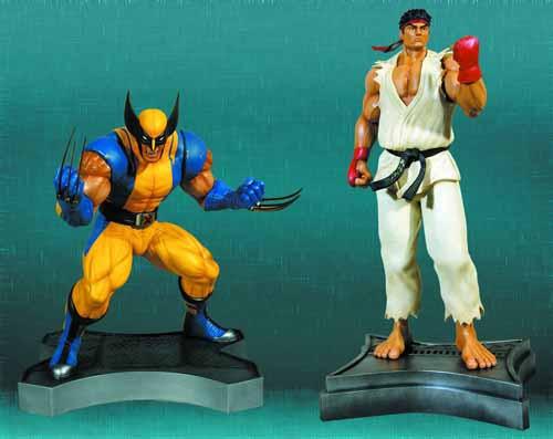 Wolverine Vs Ryu 1/3 Scale Statue Set--Marvel Vs Capcom 3 -- MAR131994