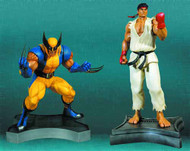 Wolverine Vs Ryu 1/3 Scale Statue Set--Marvel Vs Capcom 3 -- MAR131994