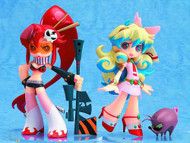 Gurren Lagann Yoko & Nia PVC Figure 2-Pack Psg Version -- MAR132025