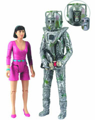 Doctor Who Peri & Rogue Cyberman Action Figure 2-Pack -- MAR132034