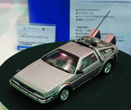 Back to the Future I 1/24 Delorean Model Kit -- MAR132066