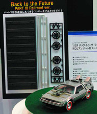 Back to the Future III 1/24 Delorean Model Kit -- MAR132068