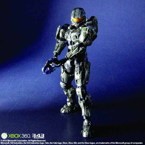 Halo 4 Play Arts Kai Master Chief Action Figure -- MAR132082
