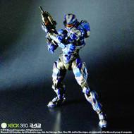 Halo 4 Play Arts Kai Spartan Warrior Action Figure -- MAR132083