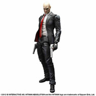 Hitman Absolution Play Arts Kai Agent 47 Action Figure -- MAR132084