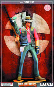 Team Fortress 2 RED Sniper Statue -- MAR132087