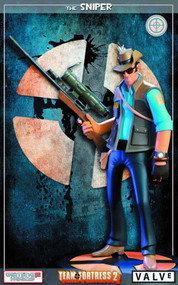 Team Fortress 2 BLU Sniper Statue -- MAR132088