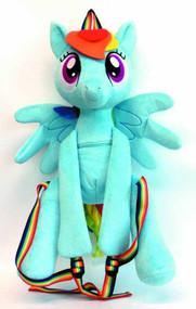 My Little Pony Rainbow Dash Plush Backpack -- MAR132215