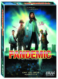 Pandemic Board Game New Edition -- MAR132266