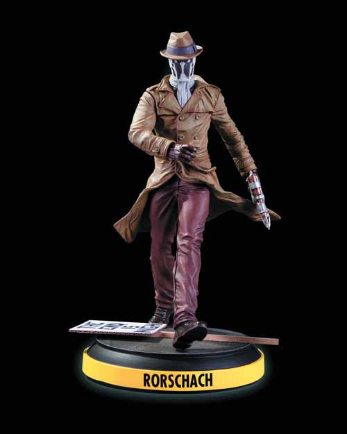 Before Watchmen Rorschach Statue -- DC Comics -- MAY120344