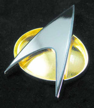 Star Trek The Next Generation Communicator Badge Replica -- DEC132276