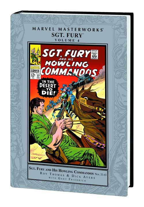 Marvel Masterworks MMW Sgt Fury HC Vol 04 -- MAY120736