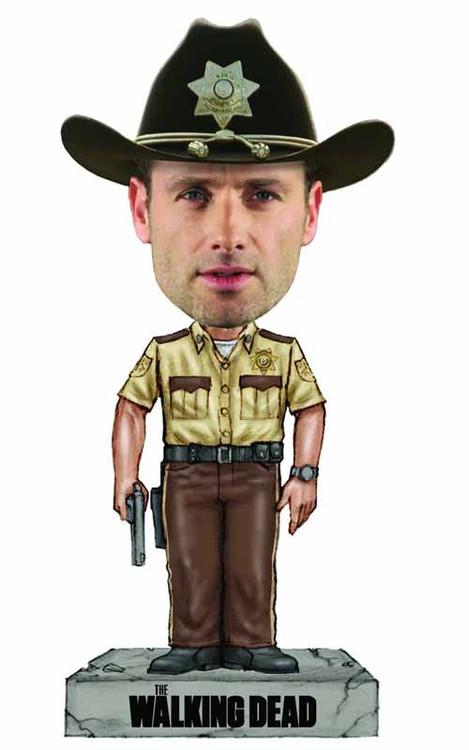 Walking Dead Rick Grimes Wacky Wobbler -- Robert Kirkman -- DEC132293