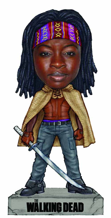 Walking Dead Michonne Wacky Wobbler -- Robert Kirkman -- DEC132296