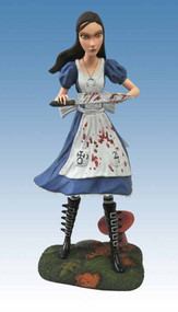 Femme Fatales Alice Madness Returns PVC Statue -- MAY121669