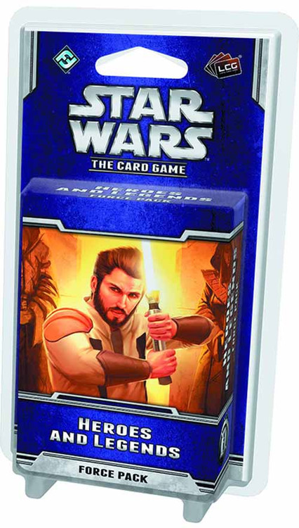 Star Wars LCG Heroes And Legends Force Pack -- DEC132316