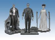 Universal Monsters Black & White Figure Set #2 -- MAY121677