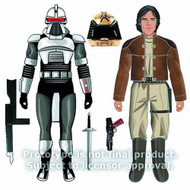 Battlestar Galactica BSG Cylon & Captain Apollo Af Asst -- MAY121709