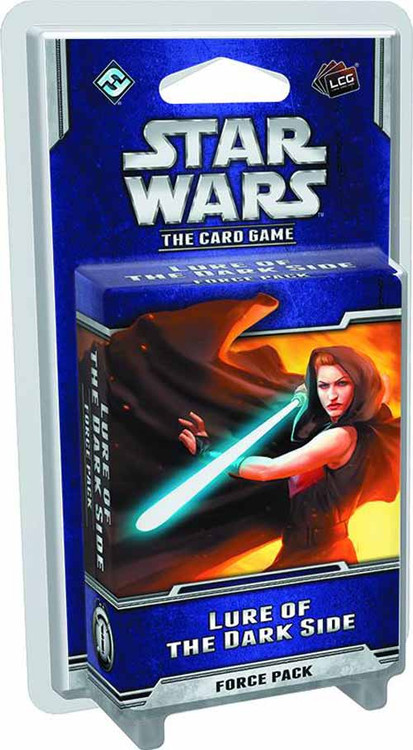 Star Wars LCG Lure Of The Dark Side Force Pack -- DEC132317