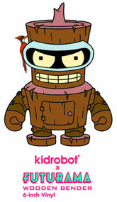 Futurama Wooden Bender 6in Vinyl Figure -- MAY121720