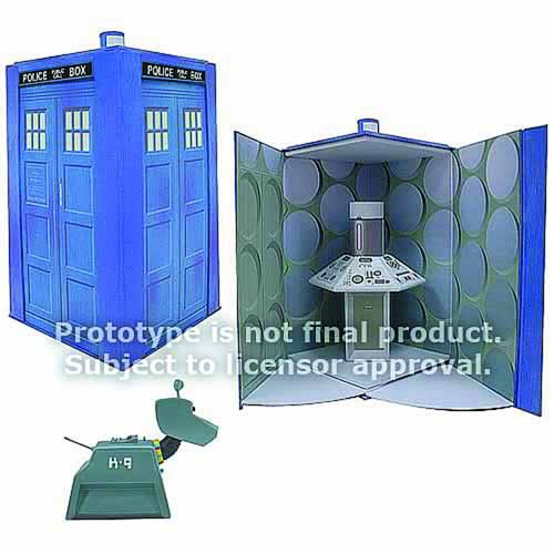 Doctor Who K-9 Action Figure w/ Tardis Play Set -- MAY121731