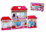 Mega Bloks Hello Kitty Dream House Set -- MAY121738