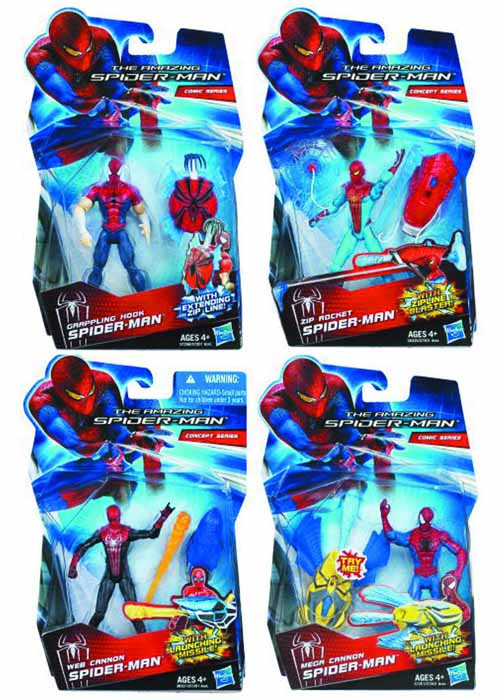 Spider-Man Mission Spidey Action Figure Assortment 201202 -- MAY121782