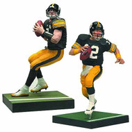 TMP Sports NFL Bradshaw/Big Ben Action Figure 2-Pack Case -- MAY121792