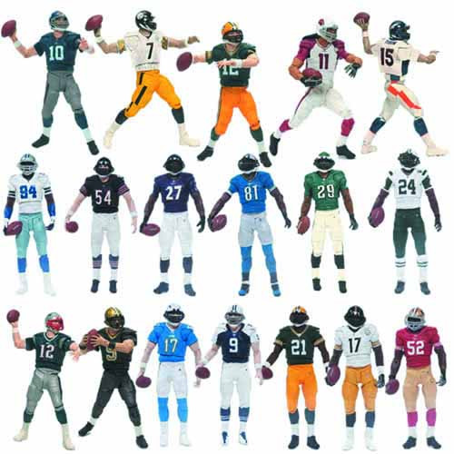 NFL Playmakers Series 3 Demarcus Ware Action Figure Case -- MAY121799
