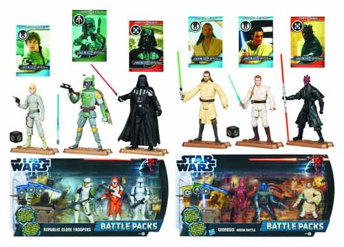 Star Wars Action Figure Battle Packs Assortment 201202 -- MAY121838