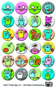 Uglydolls 1in Pin 200-Piece Ds -- MAY121854