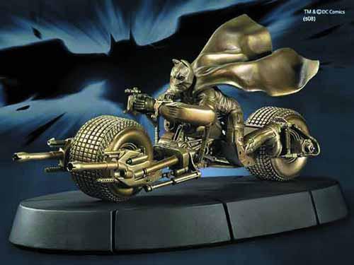 Batman Batpod Sculpture -- DC Comics -- MAY121863