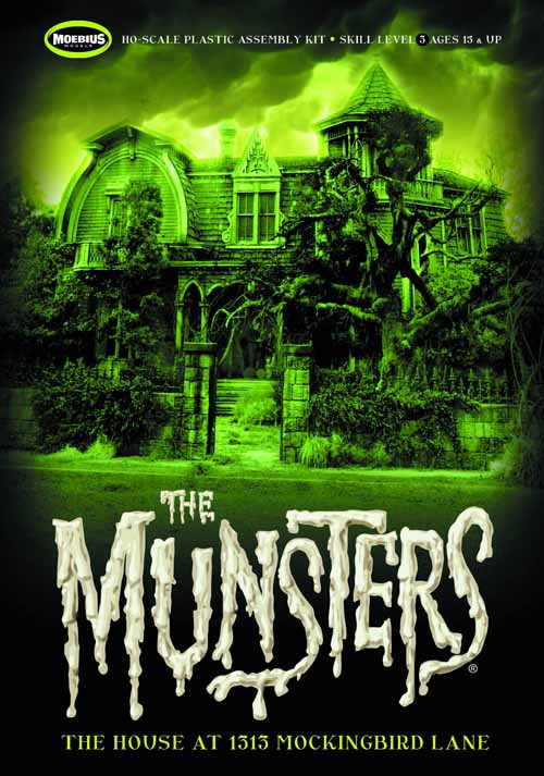 Munsters House Model Kit -- MAY121865