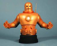 Iron Man Mark II MkII Gold Armor Mini-Bust -- Gentle Giant -- MAY121879