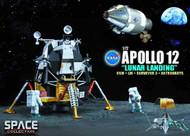 Nasa Apollo 12 Lunar Landing 1/72 Scale Model -- MAY121952