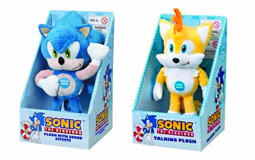 Sonic The Hedgehog Medium Plush 8-Piece Assortment -- MAY121970
