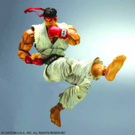 Street Fighter Iv Play Arts Kai Ryu Action Figure -- MAY121972