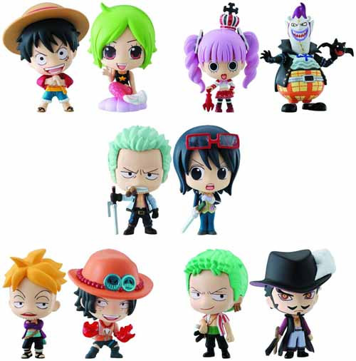 One Piece Ocean Blue Box Dp 10-Piece Ds -- MAY121981