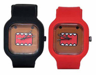 Classic Domo Modify Watch Red/Black Straps -- MAY122062
