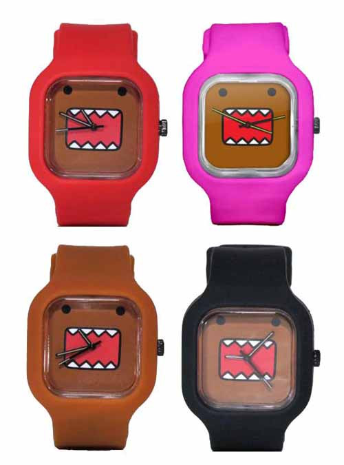 Mini Domo Modify Watch Red/Black Straps -- MAY122064