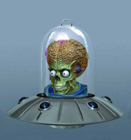 Mars Attacks Ship Ornament -- Gentle Giant -- MAY122095