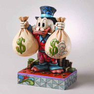 Disney Traditions Uncle Scrooge Wealth Figure -- FEB121780