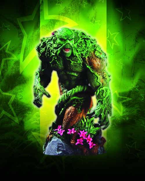 Heroes Of The DCU Series 2 Swamp Thing Bust -- NOV110245
