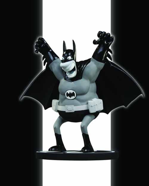 Batman Black & White Statue By Sergio Aragones -- NOV110246