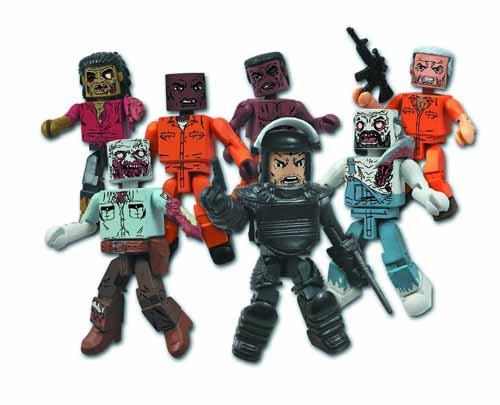 Walking Dead Minimates Series 3 assortment--Diamond Select -- FEB131535