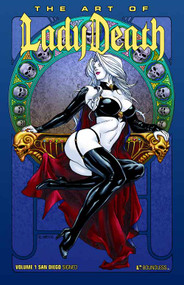 Art Of Lady Death HC Vol 01 SDCC Edition -- NOV110856