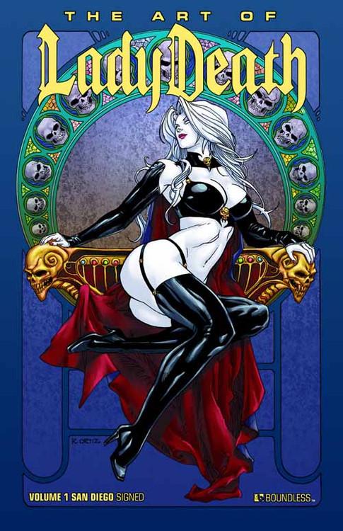 Art Of Lady Death HC Vol 01 SDCC Edition -- NOV110856