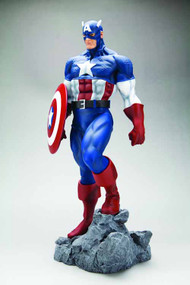 Captain America Classic Avengers Fine Art Statue -- NOV111607