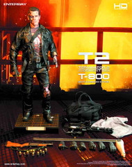 T2 T-800 HD Masterpiece Action Figure Battle Damaged Ver -- FEB131721